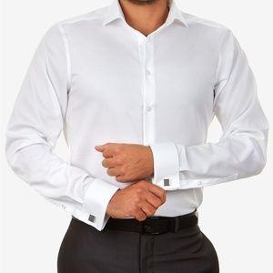 Calvin Klein White Button Down Shirt